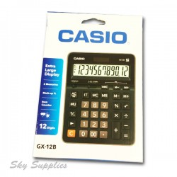 Casio GX-12B Calculator