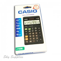Casio J-120B Calculator