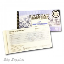 House Rent Receipt Book