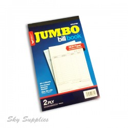 "Unicorn Jumbo Bill Book 5""x8"" 2ply"