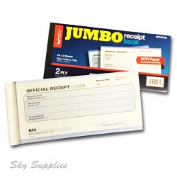 Unicorn Jumbo Receipt Book