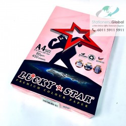 Lucky Star Colour Paper A4 80 gsm