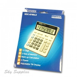 Citizen SDC-878 Calculator